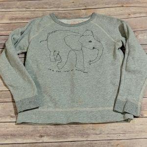 J. Crew Kids Elephant Sweatshirt